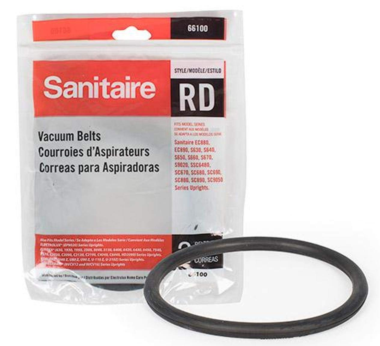 52100 Eureka Sanitaire By Electrolux Upright Belt 52100b