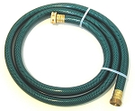Six Foot Garden Water Extension Hose for Pumps and Hose Reels with Brass fittings